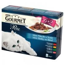 Gourmet Perle Mini Fileciki w sosie wołowina 8x85g