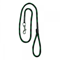Chaba Smycz linka czarno zielona