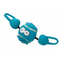 Coockoo Shoot piłka z gumą niebieska 7,8cm