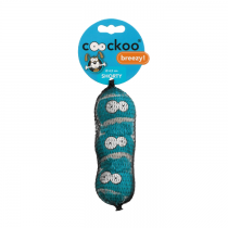 Coockoo Breezy piszczące piłki niebieskie 3szt.