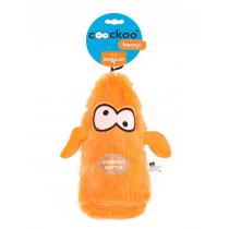 Coockoo Boozy piszcząca zabawka z butelką pomarańczowa 25 x 10 x 8cm