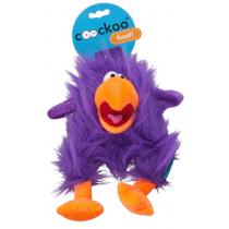 Coockoo Fuzzl pluszowa piszcząca zabawka fioletowa 25 x 14cm