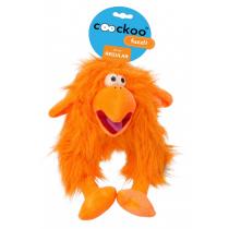Coockoo Fuzzl pluszowa piszcząca zabawka pomarańczowa 25 x 14cm
