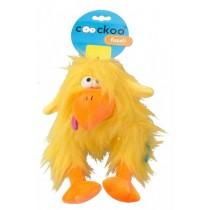 Coockoo Fuzzl pluszowa piszcząca zabawka żółta 25 x 14cm