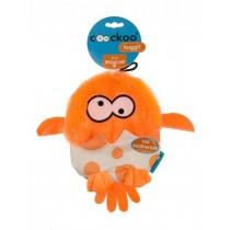 Coockoo Huggl piszcząca zabawka aport pomarańczowa 24 x 18cm