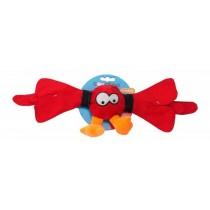 Coockoo Thunder piszcząca piłka czerwona