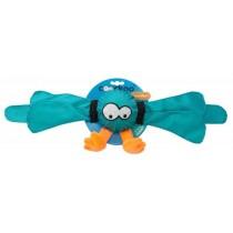 Coockoo Thunder piszcząca piłka turkusowa