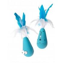 Coockoo Wobble interaktywna zabawka niebieska 12,5 x 6,5cm