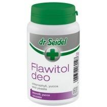 Dr Seidel Flawitol Deo z chlorofilem i Yucca Schidigera 60 tabl.