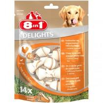 8in1 Delights Bones kość wiązana XS 14szt.