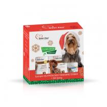 Over Zoo Zestaw Świąteczny dla psów rasy Yorkshire Terrier z Silk Spray + Clean Drop