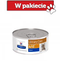 Hill's Prescription Diet Feline s/d Urinary Care z kurczakiem 156g