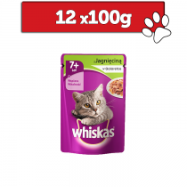 Whiskas Senior 7+ w galaretce 100g x 12