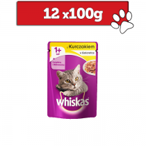 Whiskas w galaretce 100g x 12