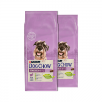 Dog Chow Senior Lamb 2x14kg