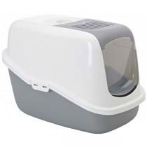 Savic Toaleta dla kota Nestor szara 56 x 39 x 38,5cm