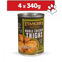 Evanger's Hand Packed 4 x 340g
