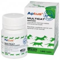 Aptus Multicat preparat witaminowy dla kotów 120 tabl.