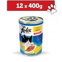 Felix w galaretce puszka 400g x 12