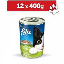 Felix w sosie 12 x 400g