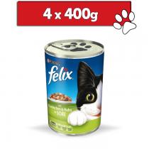 Felix w sosie 400g x 4