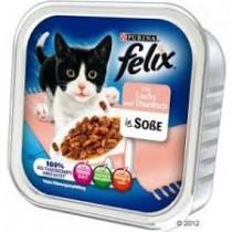 Felix w sosie tacka łosoś i tuńczyk 100g x 12