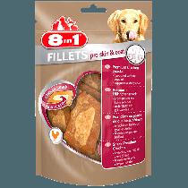 8in1 Fillets Pro Skin & Coat S - przekąska dla zdrowej skóry 80g