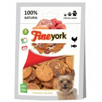 Prozoo FineYork Fish and Chicken Chips 80g