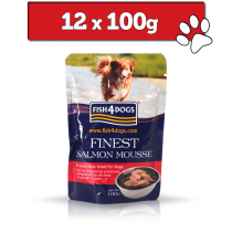 Fish4Dogs Finest Mousse saszetka 12 x 100g