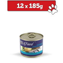 Fish4Dogs Wet Complete puszka 185g x 12