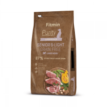 Fitmin Dog Purity Senior & Light Rice, Venison & Lamb
