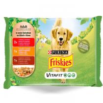 Friskies Vitafit Adult w sosie 100g x 16 (multipak x 4)