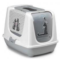 Yarro Moderna Toaleta Trendy z filtrem Zakochany kot 50х39х37cm