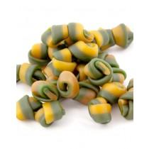 ALDA kość dental zielono-żółta 8cm 500g