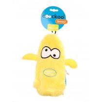 Coockoo Boozy piszcząca zabawka z butelką żółta 25 x 10 x 8cm
