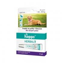 HAPPS Herbal Krople na pchły i kleszcze dla psów
