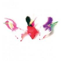 Zolux Trzy myszki z piórami