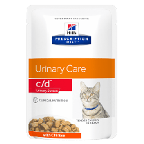 Hill's Prescription Diet Feline c/d Urinary Care Multicare 85g