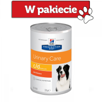 Hill's Prescription Diet Canine c/d Urinary Care Multicare z kurczakiem 370g