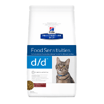 Hill's Prescription Diet Feline d/d Food Sensitivities z dziczyzną i groszkiem