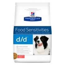 Hill's Prescription Diet Canine d/d Food Sensitivities z łososiem i ryżem