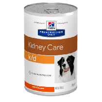 Hill's Prescription Diet Canine k/d Kidney Care z kurczakiem 370g