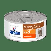 Hill's Prescription Diet Feline k/d Kidney Care z kurczakiem 156g