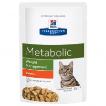 Hill's Prescription Diet Feline Metabolic Weight Management z kurczakiem 85g