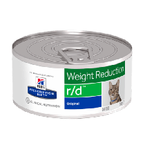 Hill's Prescription Diet Feline r/d Weight Reduction z kurczakiem 156g