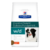 Hill's Prescription Diet Canine w/d Digestive/Weight/Diabetes Management z kurczakiem