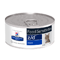 Hill's Prescription Diet Feline z/d Food Sensitivities original 156g