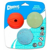 Chuckit! Fetch Medley Medium 3pak