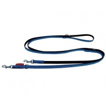 Champion Smycz taśma regulowana niebieska 10mm/240cm