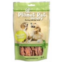 Planet Pet Society Rabbit Strips 80g